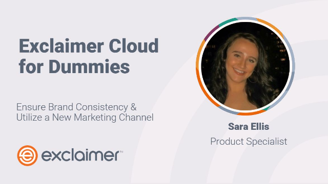 Exclaimer Cloud for Dummies