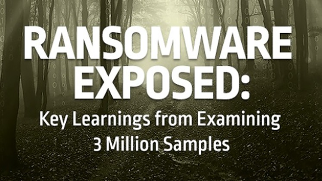 Ransomware Exposed: Key Learnings from Examining 3 Million Samples