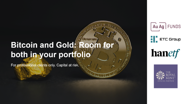 Bitcoin and Gold: Is there room for both in a portfolio?