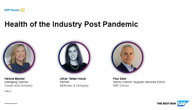 Travel Industry Summit - Health of the Industry Post Pandemic