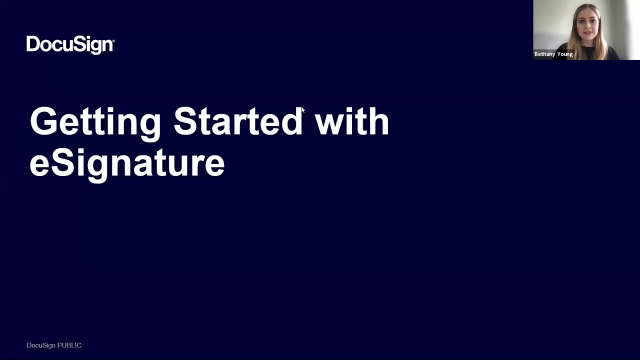 Getting Started with eSignature