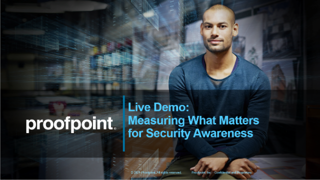 Live Demo - Measuring What Matters for Security Awareness