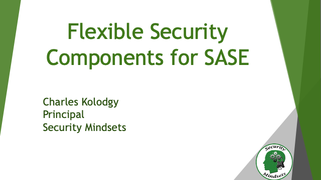 Flexible Security Components for SASE