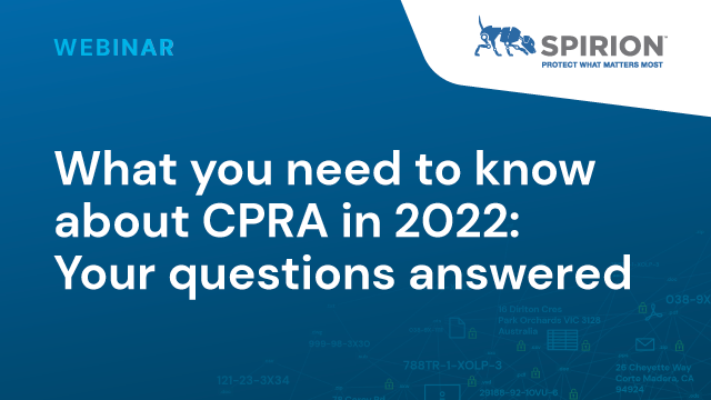 What You Need to Know About CPRA in 2022: Your Questions Answered