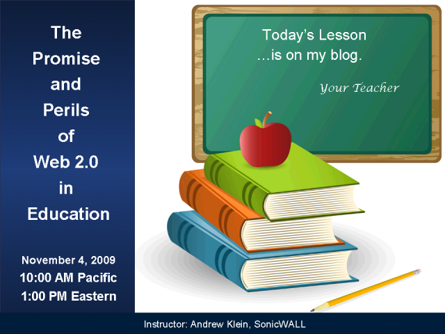 The Promise and Perils of Web 2.0 in Education