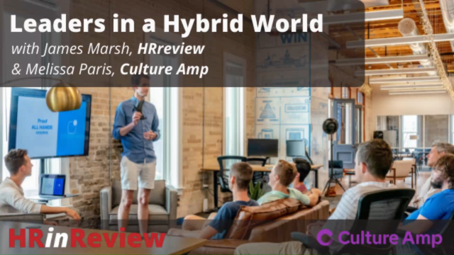 Leaders in a Hybrid World - Podcast