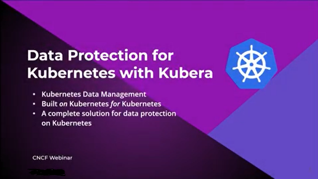 Data Protection for Kubernetes with Cloudian and MayaData