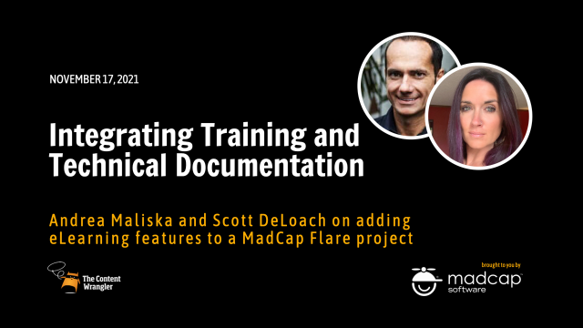 Integrating Training and Technical Documentation