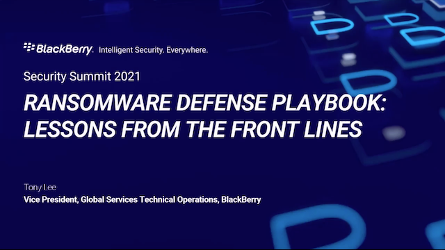 Ransomware Defense Playbook – Lessons From The Front Lines