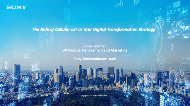 The Role of Cellular IoT in Your Digital Transformation Strategy
