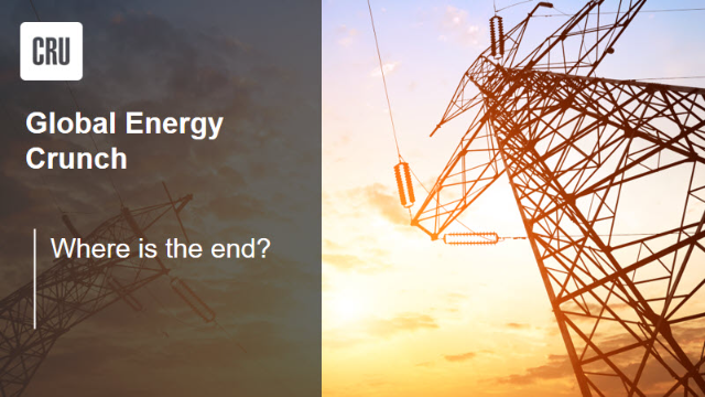 Global energy crunch - where is the end?