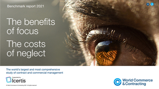 Unveiling the Anticipated World Commerce & Contracting 2021 Benchmark Report