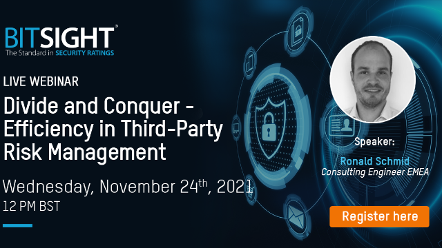 Divide and Conquer - Efficiency in Third-Party Risk Management