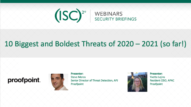 10 Biggest and Boldest Threats of 2020 – 2021 (so far!)