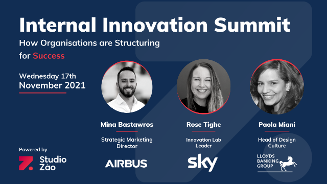 Internal Innovation Summit: How Organisations are Structuring for Success