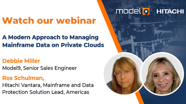 A Modern Approach to Managing MF Data on Private Clouds with Hitachi & Model9