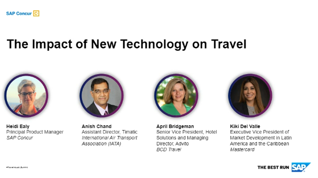 Travel Industry Summit - The Impact of New Technology on Travel