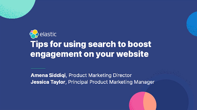 Tips for using search to boost engagement on your website