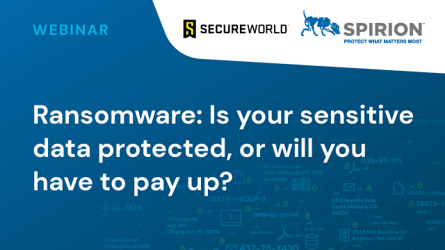 Ransomware: Is Your Sensitive Data Protected, or Will You Have to Pay Up?