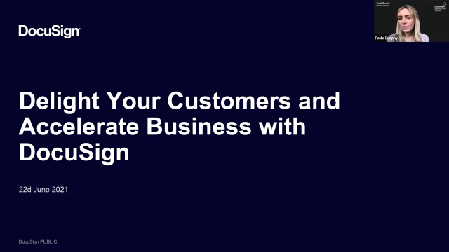 Enhance Your Customer Experience with DocuSign