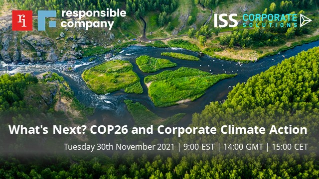 What's Next? COP26 and Corporate Climate Action