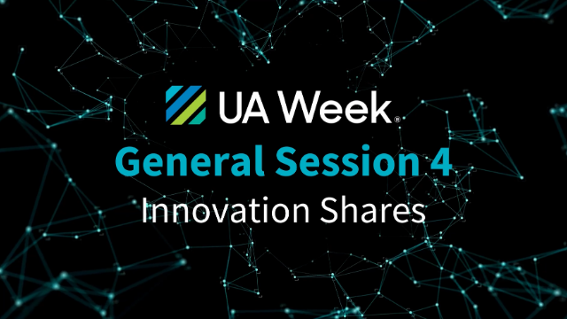 Utility Analytics Week 2021 General Session 4 - Innovation Shares
