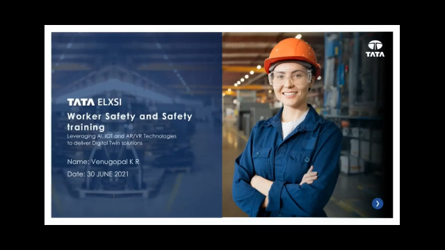 AI and AR/VR Technologies to deliver worker safety and safety training