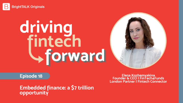 Embedded finance: a $7 trillion opportunity