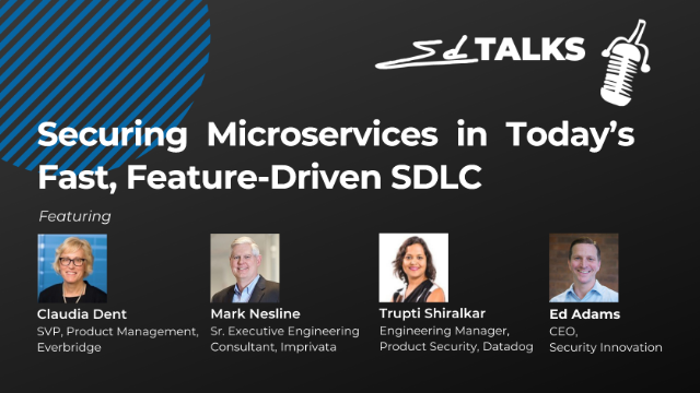 Securing Microservices in Today's Fast, Feature-Driven SDLC