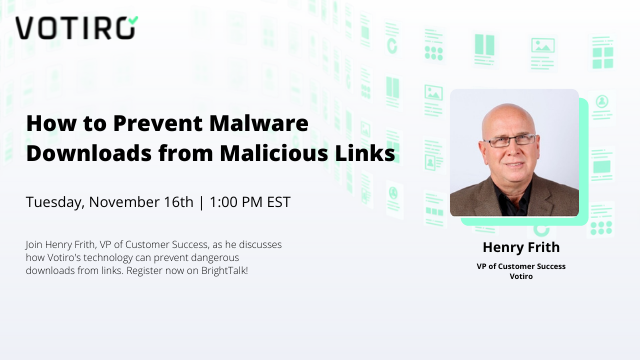 How to Prevent Malware Downloads from Malicious Links