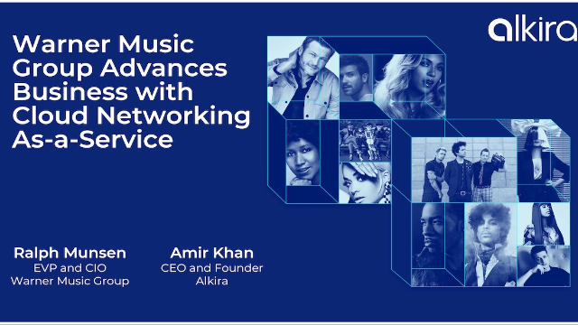 Case Study: Warner Music Group Advances Business with Cloud Network As-a-Service