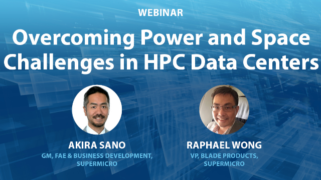 Overcoming Power and Space Challenges in HPC Data Centers