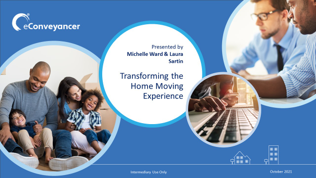 eConveyancer – Transforming the Home Moving Experience