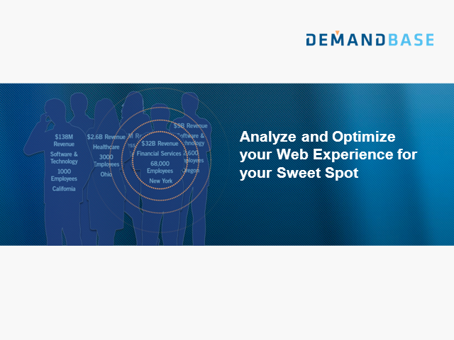 Analyze and Optimize your Web Experience for your Sweet Spot
