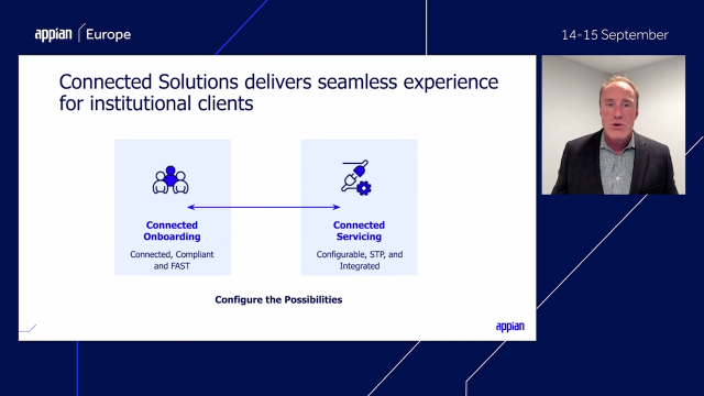 Connect People, Technologies and Data for Faster Client Onboarding and Servicing