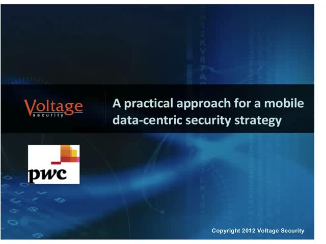 A practical approach for a mobile data-centric security strategy