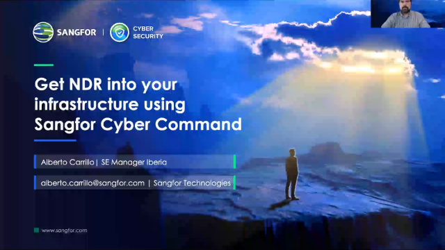 [Spanish] Get NDR into Your Infrastructure Using Sangfor Cyber Command
