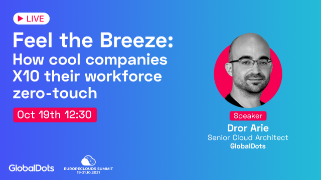 Feel the Breeze – How cool companies X10 their workforce zero-touch