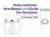 Homo Irrational: how biases (mis)guide our decisions