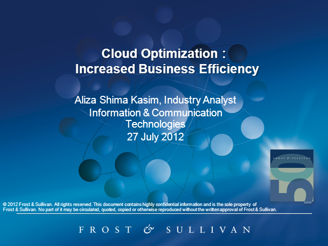 Cloud Optimization: Increased Business Efficiency