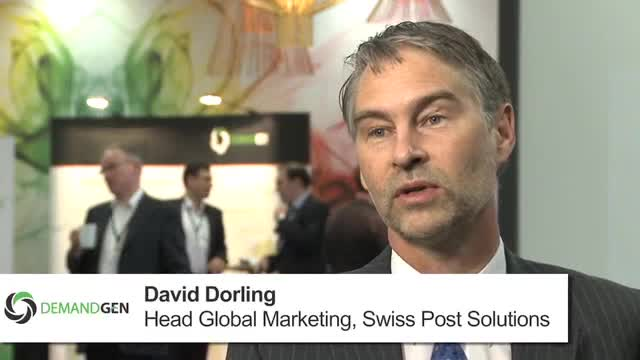 Global Marketing Automation Deployment (Swiss Post Solutions -- David Dorling)