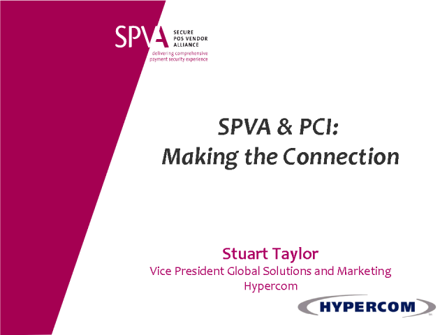 SPVA & PCI: Making the Connection