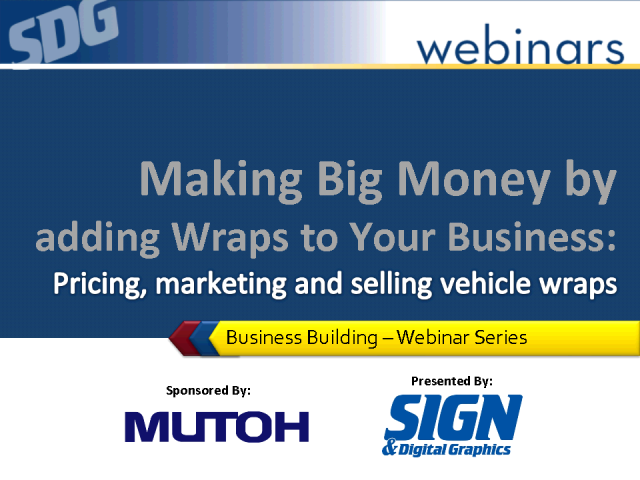 Making Money by Adding Wraps - Pricing, Marketing & Selling Wraps