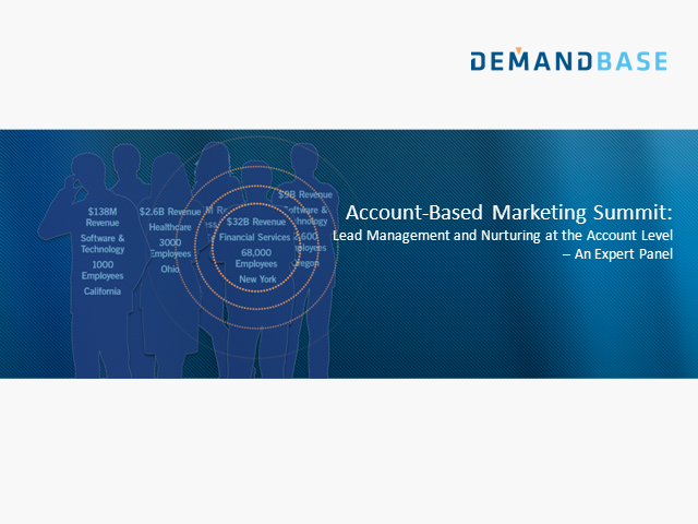 Expert Panel: Account-Based Lead Management and Nurturing Strategies