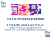 PM Society Digital Breakfast 3 - Digital awards winners