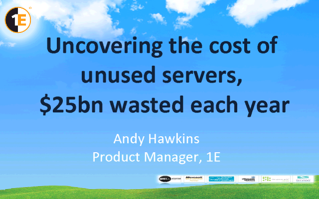 Uncovering the Cost of Unused Servers - $ 25bn Wasted Each Year