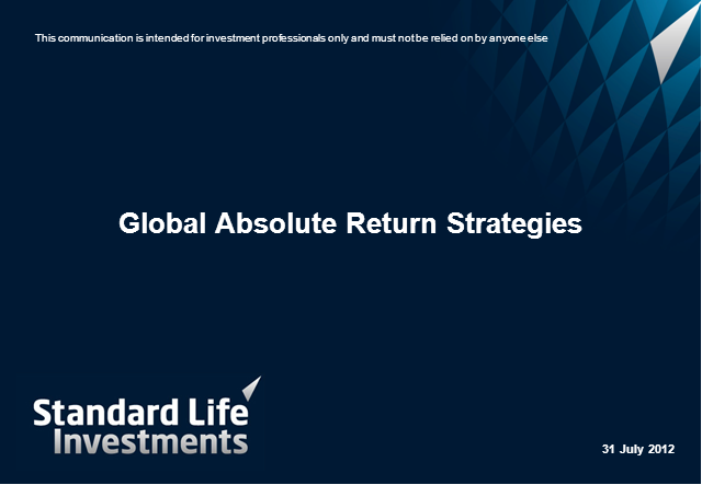 Global Absolute Return Strategies (GARS) Fund