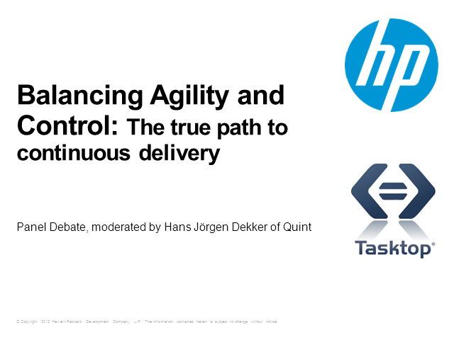 Balancing Agility and Control: The True Path to Continuous Delivery