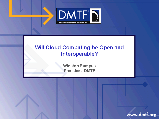 Will Cloud Computing be Open and Interoperable?