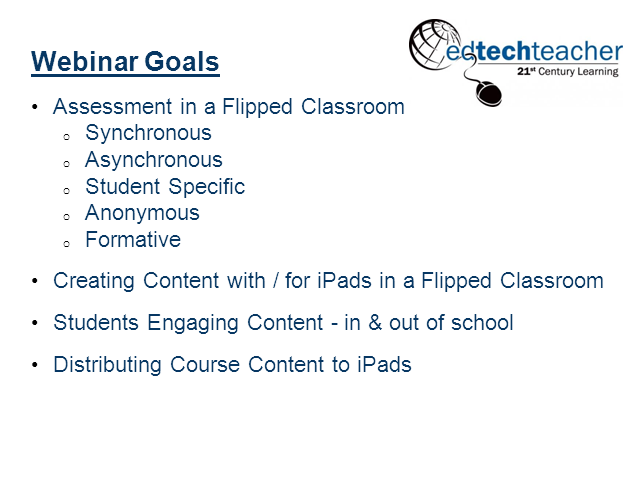 The Flipped iPad Classroom